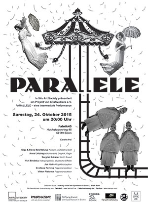 PARALLELE – eine intermediale Performance